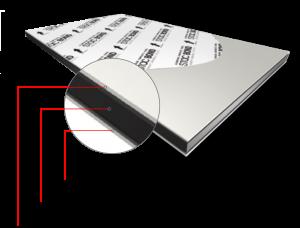Alu-Verbundplatten - Konstruktion der Fassaden