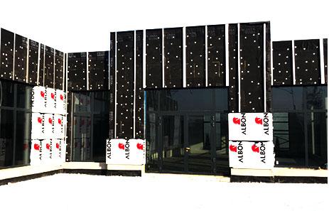 Moderne Hinterlüftete Fassaden