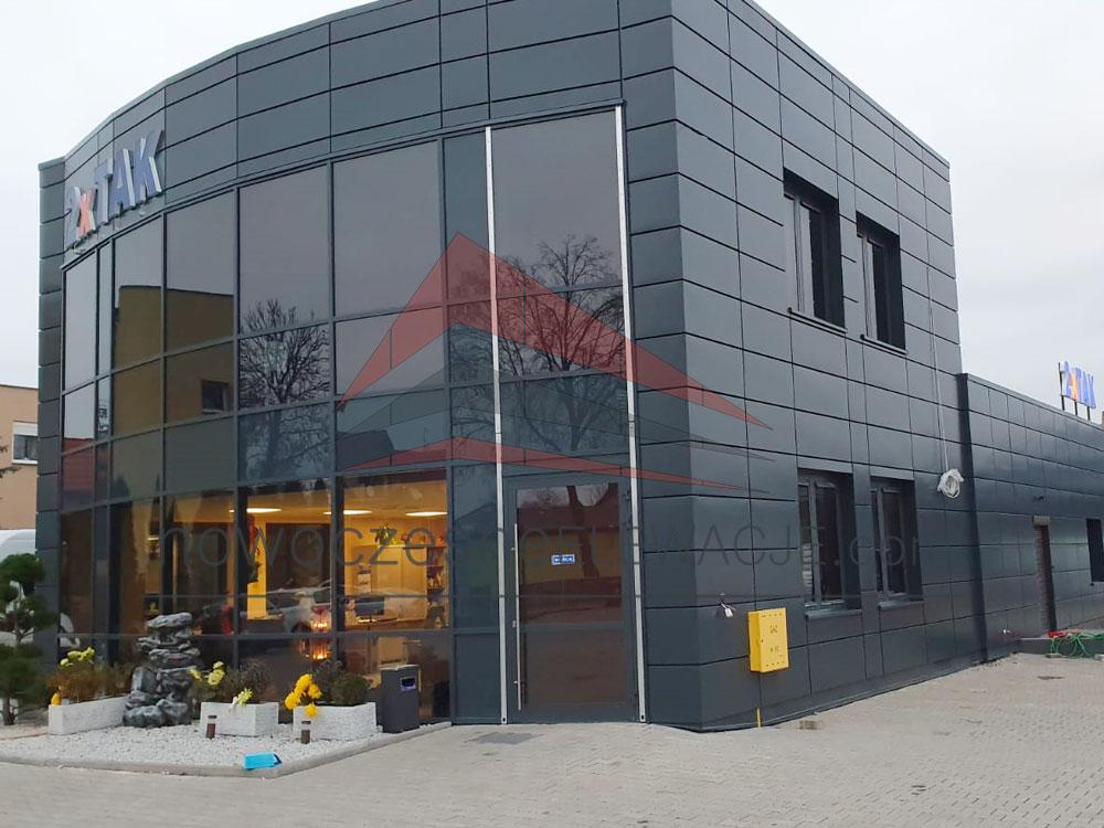 Bürocontainer - Production - Moderne Fassaden
