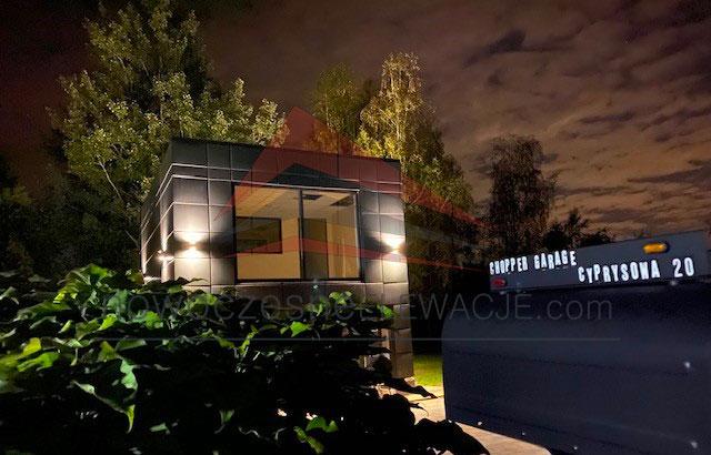 Chopper Garage - Moderne Fassaden