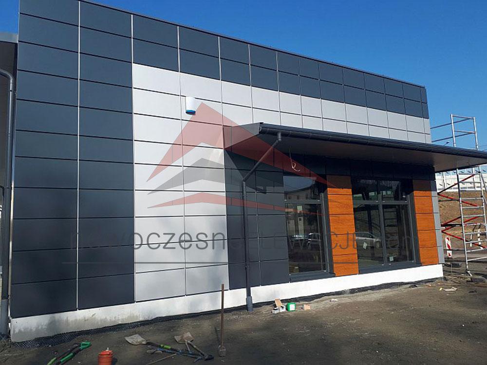 Modulare Ladengebäude - Moderne Fassaden