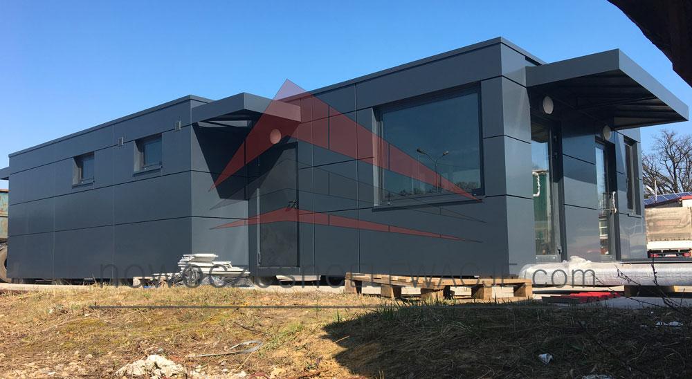 Verkaufscontainer - Moderne Fassaden