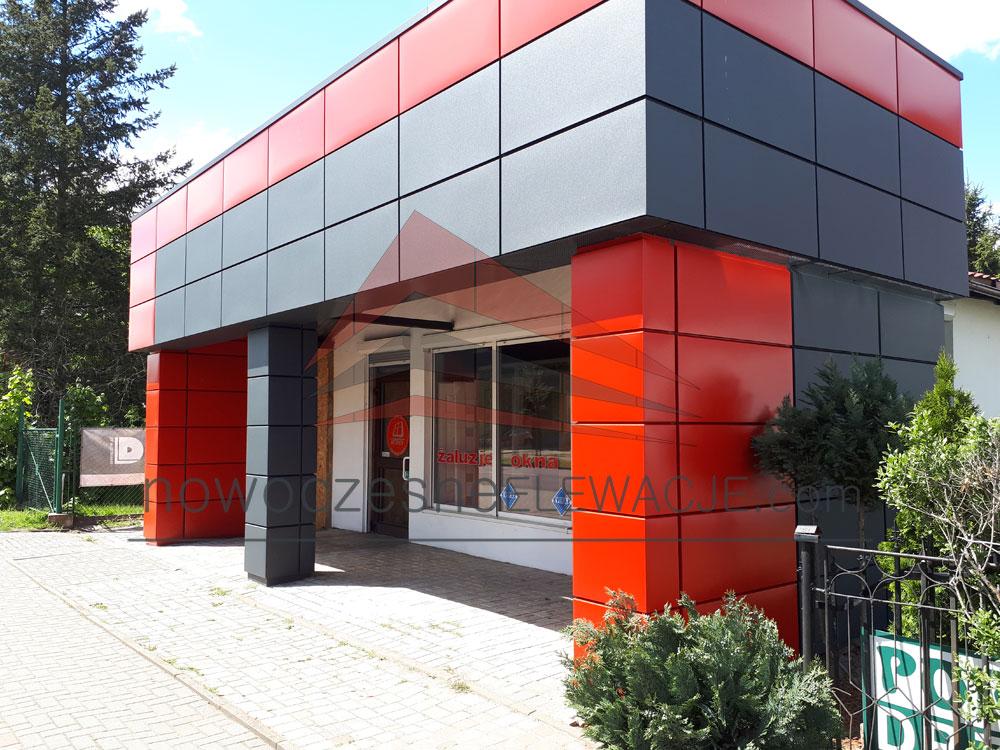 Modulare Ladengebäude