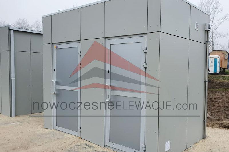 Sozialcontainer - Moderne Fassaden